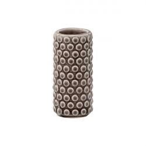 Vaza gri din ceramica 9 cm Tesa Bloomingville