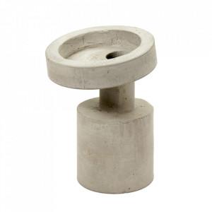 Vaza gri din ciment 31 cm Klara Serax