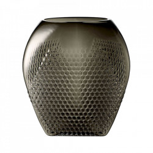 Vaza gri fum din sticla 40 cm Bramble Bolia