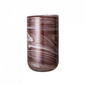 Vaza maro din sticla 25 cm Wave Bloomingville