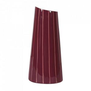 Vaza mov din metal 30 cm Fynn Zago