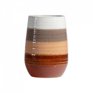 Vaza multicolora din ceramica 28 cm Lava Be Pure Home