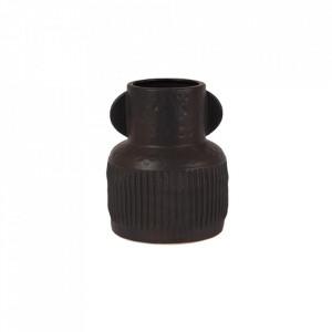 Vaza neagra din ceramica 21 cm Jacob Lifestyle Home Collection