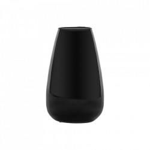 Vaza neagra din sticla 30 cm Wyatt Bitt Vical Home