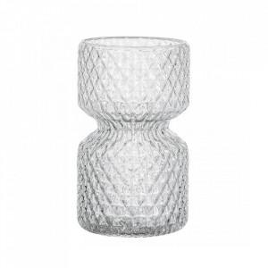 Vaza transparenta din sticla 12 cm Clepsidre Bloomingville