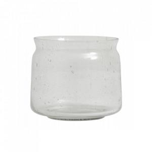 Vaza transparenta din sticla 13 cm Bubbly Nordal