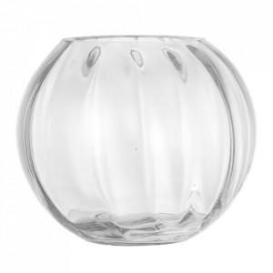 Vaza transparenta din sticla 15 cm Esma Bloomingville