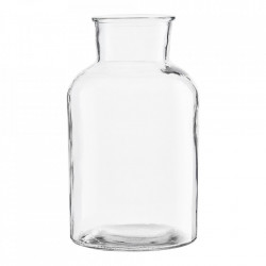 Vaza transparenta din sticla 30 cm Jarra House Doctor