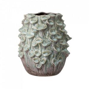Vaza verde din ceramica 23 cm Glaze Bloomingville