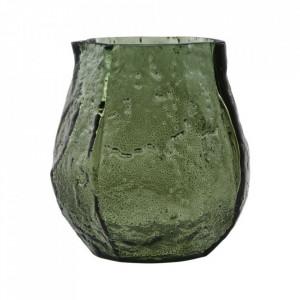 Vaza verde din sticla 10 cm Moun House Doctor