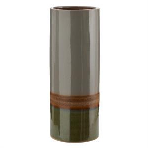 Vaza verde/gri din ceramica 40 cm Layers Pols Potten