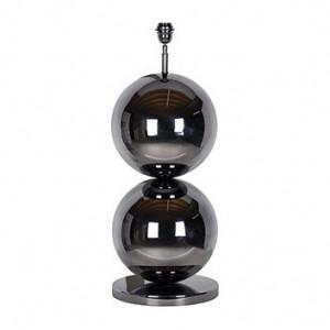 Veioza neagra din inox 77 cm Bobbie Richmond Interiors