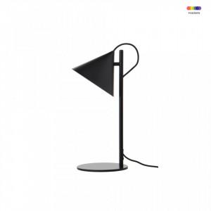 Veioza neagra din metal 47 cm Benjamin Frandsen Lighting