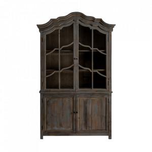 Vitrina multicolora din lemn si sticla 228 cm Weilar Vical Home