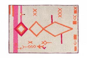 Covor dreptunghiular multicolor din bumbac 140x200 cm Saffi Lorena Canals