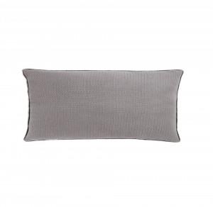Perna decorativa dreptunghiulara gri din bumbac 30x60 cm Isak Grey Zago