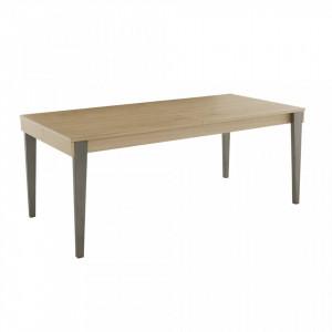 Masa extensibila din lemn si metal 90x190(270)cm Cita Zago