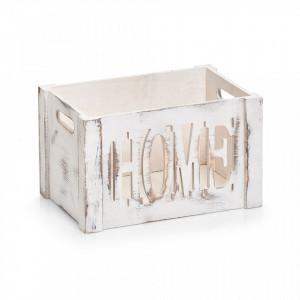 Cutie alba din lemn Home Mini Zeller