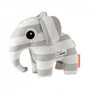 Jucarie alba/gri din bumbac Elephant Done by Deer