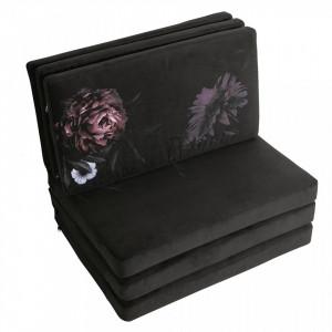 Set 6 perne pentru exterior drepunghiulare multicolore din poliester Rodeo Floral Be Pure Home