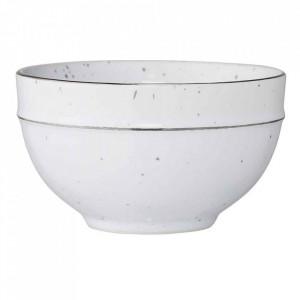 Bol alb din ceramica 400 ml Emily Bloomingville