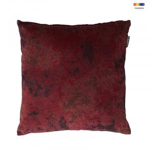 Perna decorativa patrata multicolora din bumbac 50x50 cm Evina Red Pear LifeStyle Home Collection