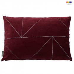 Perna decorativa dreptunghiulara rosie din bumbac 40x60 cm Malina Red Pear LifeStyle Home Collection