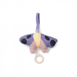 Decoratiune muzicala suspendabila multicolora din bumbac Moth Ferm Living
