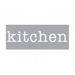 Decoratiune luminoasa alba din sticla Neon Art Kitchen Seletti