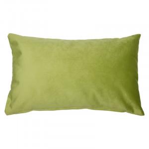 Perna decorativa dreptunghiulara verde din catifea 30x50 cm Voka Santiago Pons