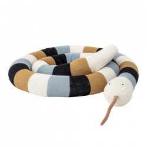Jucarie multicolora din bumbac Snake Bloomingville