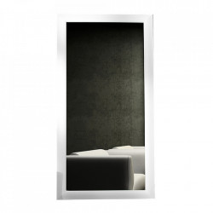Oglinda dreptunghiulara alba din lemn 85x180 cm Espo Invicta Interior