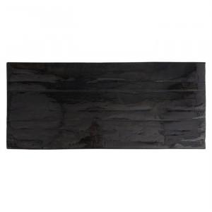 Blat negru din lemn 100x200 cm Grandis Richmond Interiors