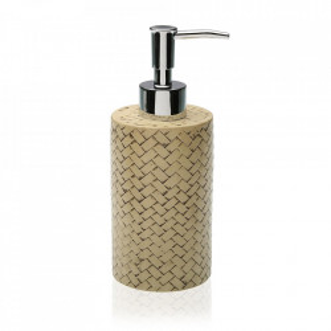 Dispenser sapun lichid bej din rasina 6,5x19 cm Tom Versa Home
