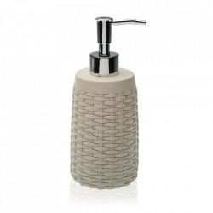 Dispenser sapun lichid bej din rasina 7,6x19 cm Lee Versa Home