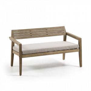 Canapea din lemn eucalipt cu perna Climby La Forma