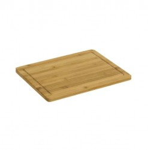Tocator dreptunghiular maro din lemn de bambus 27,5x35 cm Ale Unimasa