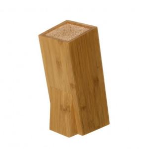Suport maro pentru cutite din lemn de bambus Ernest Unimasa