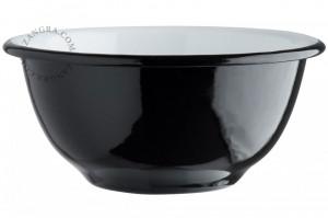 Bol negru din email 13,3 cm Eve Black Zangra