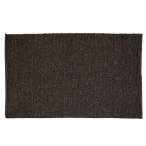 Covor gri din lana si poliester 160x230 cm Pavu Zago