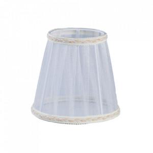 Abajur alb din textil Ivonne Maytoni