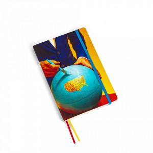 Agenda 14 x 21cm Globe Toiletpaper Seletti