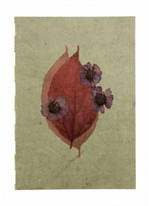 Agenda multicolora din hartie 21x30 cm Flora Large Dusty Nordal