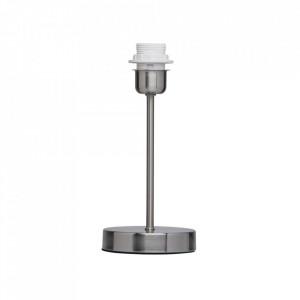Baza pentru veioza gri nichel din metal 28 cm City MW Glasberg