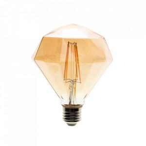 Bec cu filament LED E27 4W Deimantes Milagro Lighting