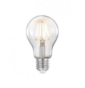 Bec dimabil transparent cu filament LED E27 4W Sphere Medium LABEL51