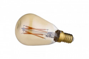 Bec LED dimabil E14 1,5W Orb Mini Gold Bolia