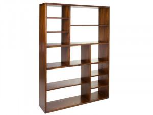 Biblioteca din lemn mindi 180 cm Wakop Santiago Pons
