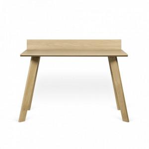 Birou maro din lemn de stejar si MDF 72x126 cm Loft TemaHome