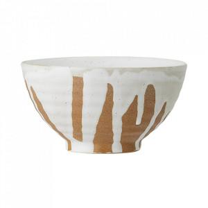 Bol alb din ceramica 300 ml Camellia Creative Collection